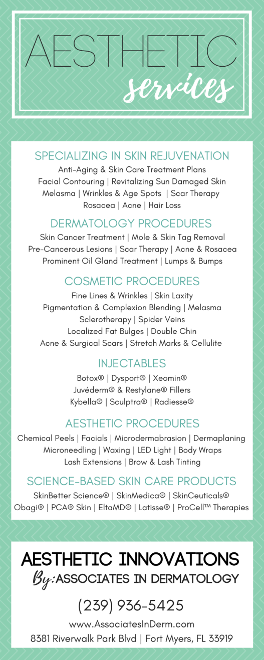 Aesthetic Services (General) w New Cosmetic Name